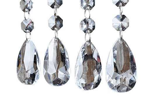 SKY CANDYBAR Acrylic Crystal Bead Hanging Strand Manzanita Trees Wedding Centerpiece Decor 12pcs