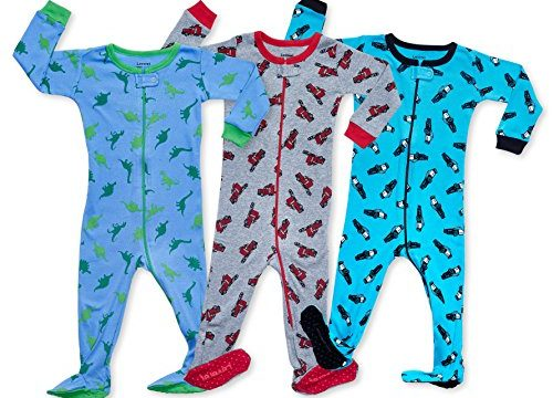 Leveret Baby Boys Footed Pajamas Sleeper 100% Cotton Kids & Toddler Owl Pjs 6 Months-5 Toddler