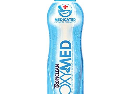 TropiClean OXYMED Medicated Pet Shampoo, 20oz