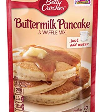 Betty Crocker Bisquick Baking Mix, Complete Pancake Mix, Buttermilk, 6.75 Oz Pouch Pack of 9