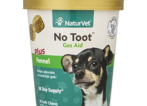 Gas & Flatulence Supplement Aid for Dogs, Relieve Gas and Bloating discomfort with No Toot Gas Aid by NaturVet