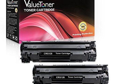 ValueToner Compatible Toner Cartridge Replacement for Canon 128 2 Black 3500B001A for Canon ImageCLASS D530, D550, MF4580DN,MF4770n,MF4890dw, MF4450,MF4412,MF4420n,Canon FaxPhone L190,L100 Printer