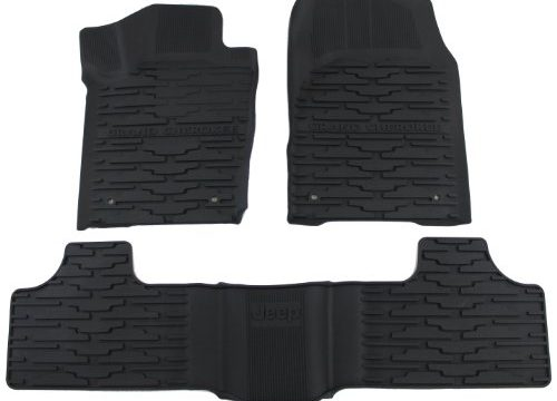 Mopar Jeep Grand Cherokee 82213686 Black All-Weather Floor Mat