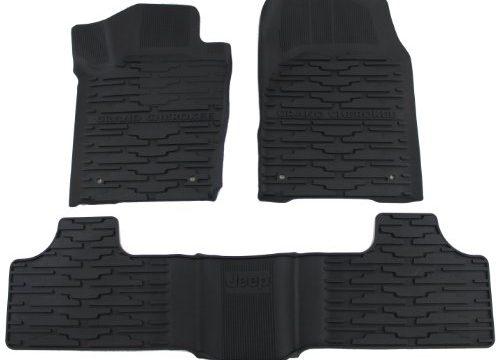Mopar Jeep Grand Cherokee 82213686 Black All-Weather Floor Mat