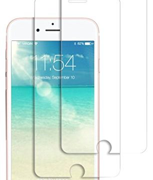 iPhone 7 Plus Tempered Glass Screen Protector 2 Pack, 2.5D Edge, 9H Hardness, Crystal Clear, Bubble Free, 3D Touch Compatible, ICFPWR Screen Protector for Apple iPhone 7 Plus