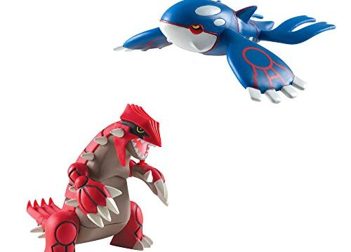 Pokémon Multi Legendary Figure Pack, Groudon And Kyogre
