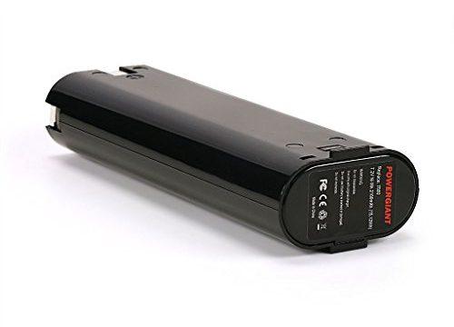 PowerGiant 7.2V 1.3Ah Battery Replacement for Makita 7000 7002 7033, 6010D 6172D DA3000D 6018D 6019D 9500D DA301D 6073D ML702
