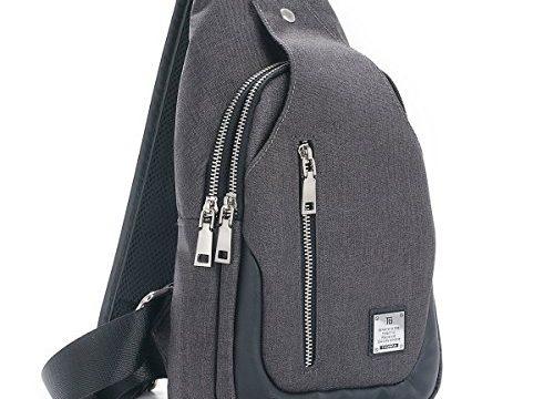 Sling Bag Chest Shoulder Backpack Crossbody Bags for Men Women Travel Outdoors