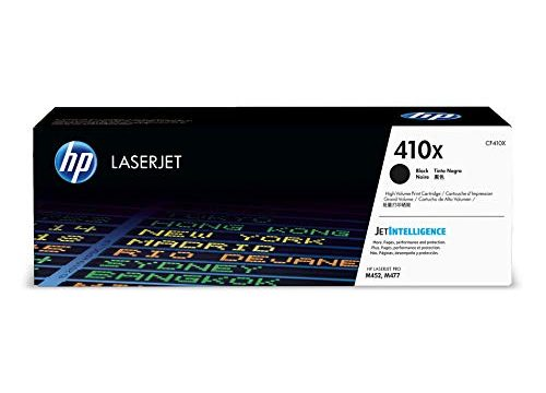 HP 410X CF410X Toner Cartridge, Black High Yield for HP Color LaserJet Pro M452dn M452dw M452nw MFP M377dw MFP M477fdn MFP M477fdw MFP M477fnw