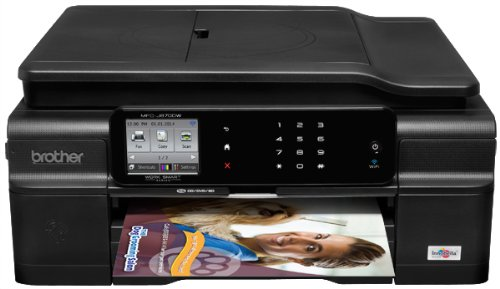 Brother MFC-J870DW Wireless Color Inkjet Printer with Scanner, Copier and Fax Discontinued by Manufacturer