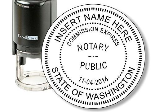 Washington – ExcelMark Self Inking Notary Stamp