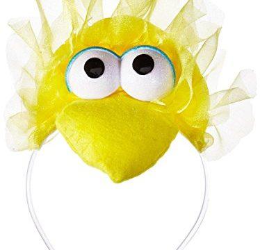 Disguise Women's Sesame Street Big Bird Adult Headband Costume Accessory