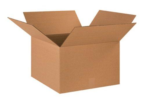 Aviditi 181812 Corrugated Box, 18″ Length x 18″ Width x 12″ Height, Kraft Bundle of 20