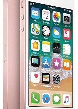 Rose Gold Renewed – Apple iPhone SE, GSM Unlocked, 32GB