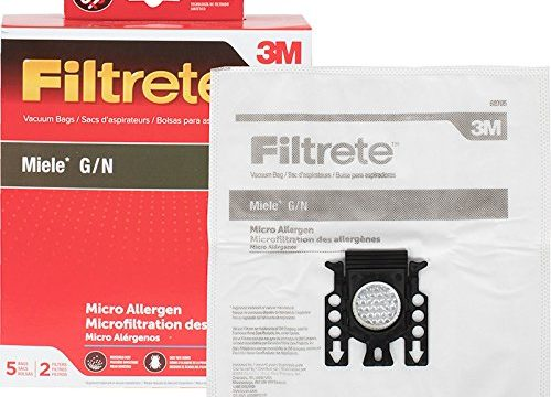 3M Filtrete Miele G/N Synthetic Vacuum Bag, Single Unit