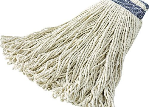 Rubbermaid Commercial Universal Headband Cotton Floor Mop, 24 Ounce, FGE13800WH00