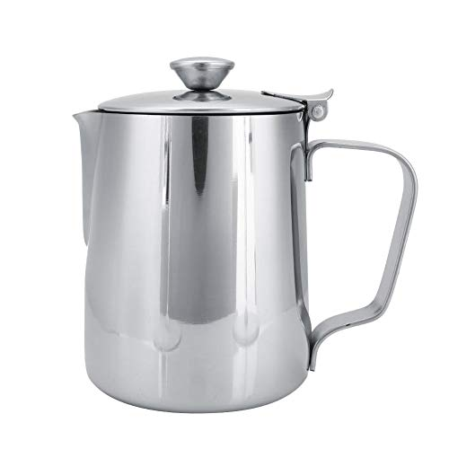 Top 10 Creamer with Lid – Espresso Steaming Pitchers