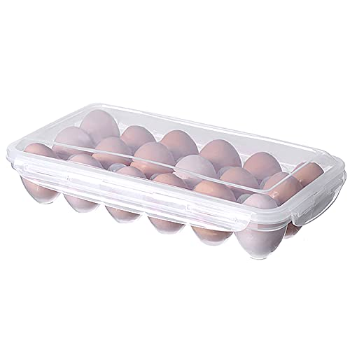 Top 10 Eggs Large 18 Count Fresh – Refrigerator Egg Trays
