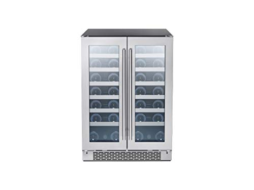 Top 10 Under Counter Refrigerator 24 Inch Wide Glass Door – Built-In Wine Cellars