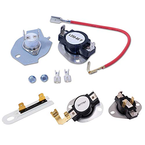 Top 10 279816 Dryer Thermostat Kit Replacement for Whirlpool – Dryer Replacement Parts