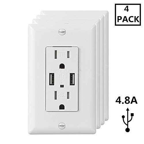 Top 10 USB Wall Outlet – Range Replacement Plug Receptacles
