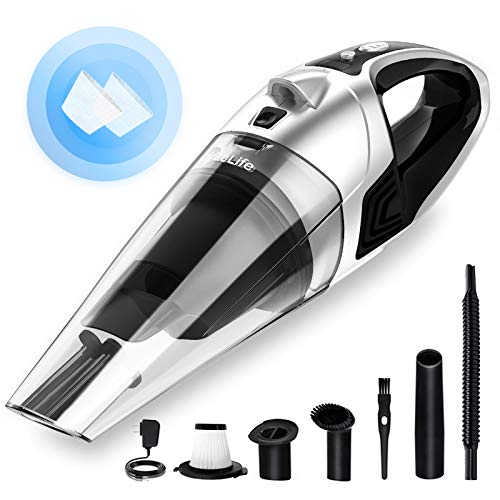 Top 10 Hand Vacuum Cleaner Cordless Rechargeable – Handheld Vacuums