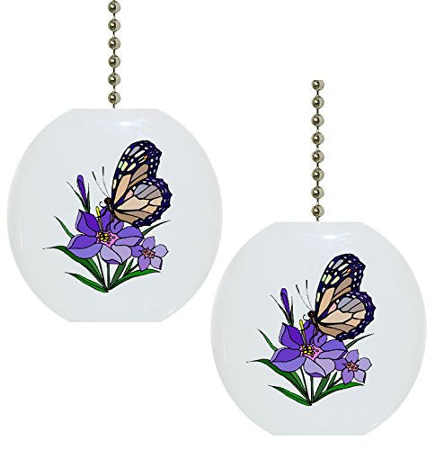 Top 9 Butterfly Outdoor Decor – Ceiling Fan Pull Chain Ornaments