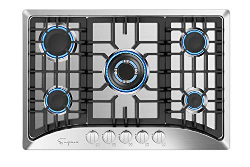 Top 7 White Gas Cooktop 30 Inch – Cooktops