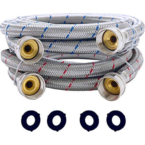 Top 10 Wash Machine Hoses 6 ft – Washer Parts & Accessories