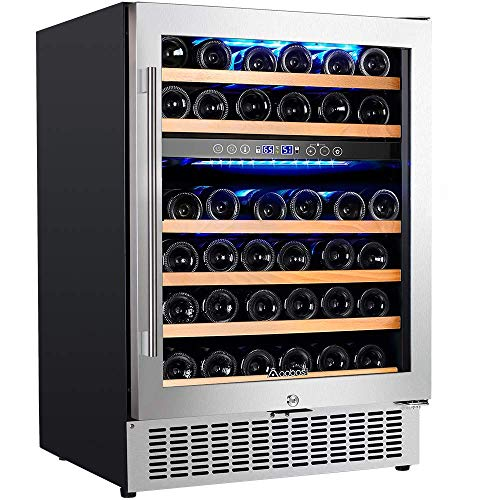 Top 10 Dual Zone Wine Cooler 24 Inch – Freestanding Wine Cellars