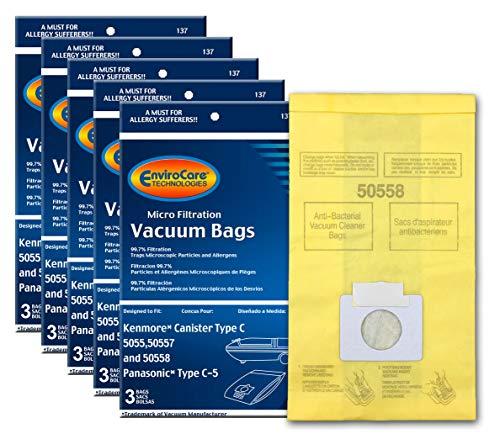 Top 8 Kenmore Vacuum Bags 50558 – Replacement Canister Vacuum Bags