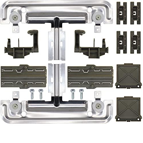 Top 10 whirlpool Dishwasher Rack Adjuster W10712395 – Dishwasher Replacement Baskets