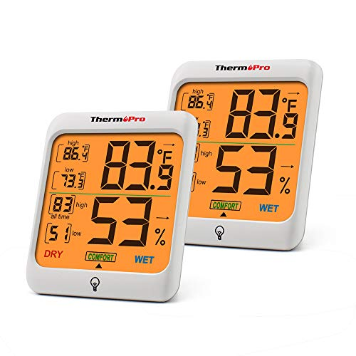 Top 10 Hygrometer Humidity Gauge – Kitchen & Dining Features