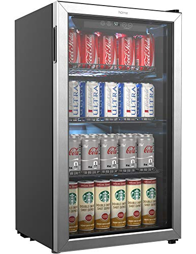 Top 10 Compact Refrigerator Glass Door – Beverage Refrigerators