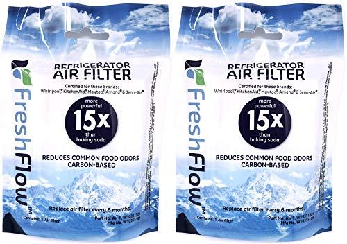 Top 10 W10311524 Whirlpool FreshFlow Refrigerator Air Filter – In-Refrigerator Water Filters